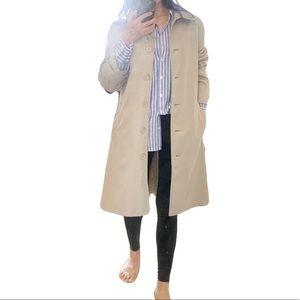EUC Hennes Long Trench Coat